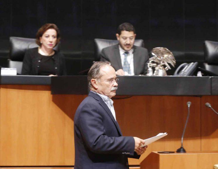 Intervención del senador Gustavo Madero Muñoz, al presentar un dictamen de las comisiones unidas de Economía y de Estudios Legislativos Segunda, que desecha la minuta que reforma y deroga diversas disposiciones de la Ley para el desarrollo de la competitividad de la micro, pequeña y mediana empresa.