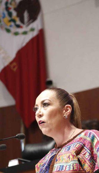Intervención de la senadora Alejandra Reynoso Sánchez, al participar en la discusión de un dictamen de las comisiones unidas de Economía y de Estudios Legislativos Segunda, que desecha la minuta que reforma y deroga diversas disposiciones de la Ley para el desarrollo de la competitividad de la micro, pequeña y mediana empresa.