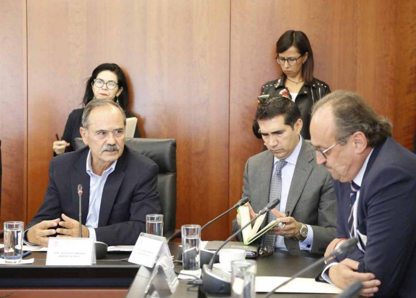 Intervenciones del senador Gustavo Madero Muñoz durante la reunión de la Comisión Parlamentaria Mixta México-Unión Europea, organizado por la Comisión de Relaciones Exteriores.