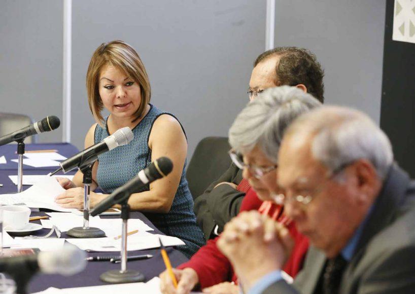 Intervenciones de la senadora Minerva Hernández Ramos, durante las entrevistas de las y los candidatos a la Junta Directiva del Organismo para la Mejora Continua de la Educación