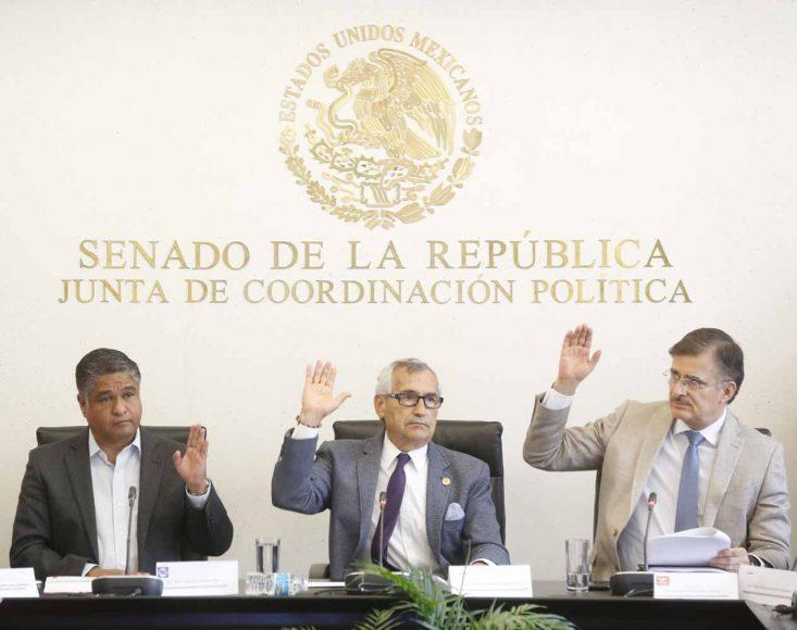 Intervención del senador Víctor Fuentes Solís en la reunión de la Tercera Comisión de la Permanente