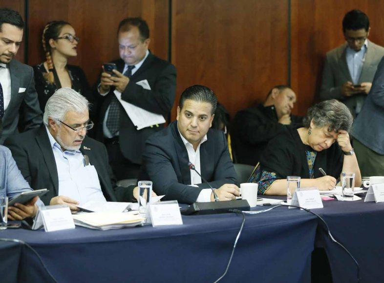 Intervención del senador Damián Zepeda Vidales en la reunión de las comisiones unidas de Hacienda y Crédito Público, y de Estudios Legislativos Segunda.