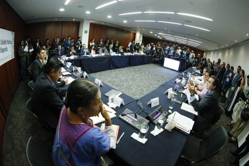 Intervención del senador Roberto Juan Moya Clemente en la reunión de las comisiones unidas de Hacienda y Crédito Público, y de Estudios Legislativos Segunda.