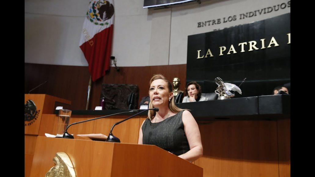 Senadora Alejandra Reynoso presenta posicionamiento del PAN en relación a la aprobación del T-MEC