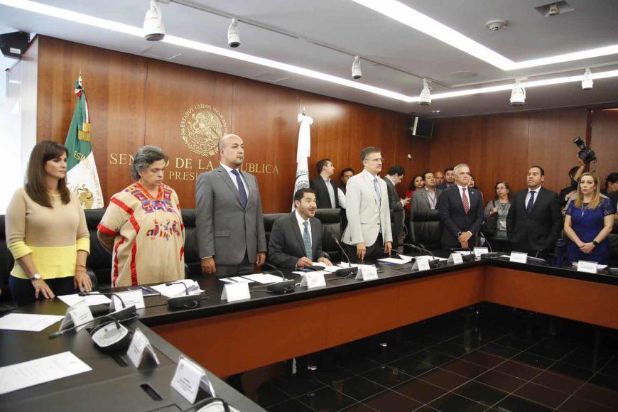 Intervención de la senadora Alejandra Reynoso Sánchez, durante la instalación del Grupo de Trabajo del T-MEC.