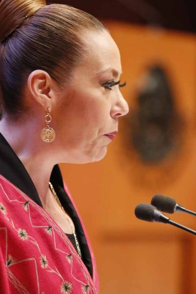 Intervención de la senadora Alejandra Reynoso Sánchez, al presentar el posicionamiento del GPPAN en relación con un dictamen de las comisiones unidas de Puntos Constitucionales, de Derechos Humanos y de Estudios Legislativos Segunda, que reforma el párrafo cuarto del artículo 4o. de la Constitución