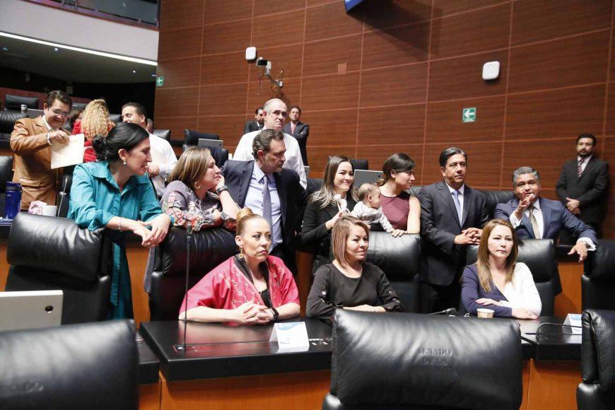 Intervención de la senadora Guadalupe Saldaña Cisneros, al participar en la discusión de un acuerdo de la Junta de Coordinación Política