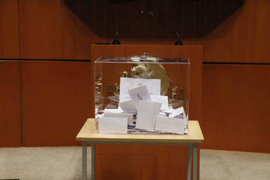 Votación por cédula