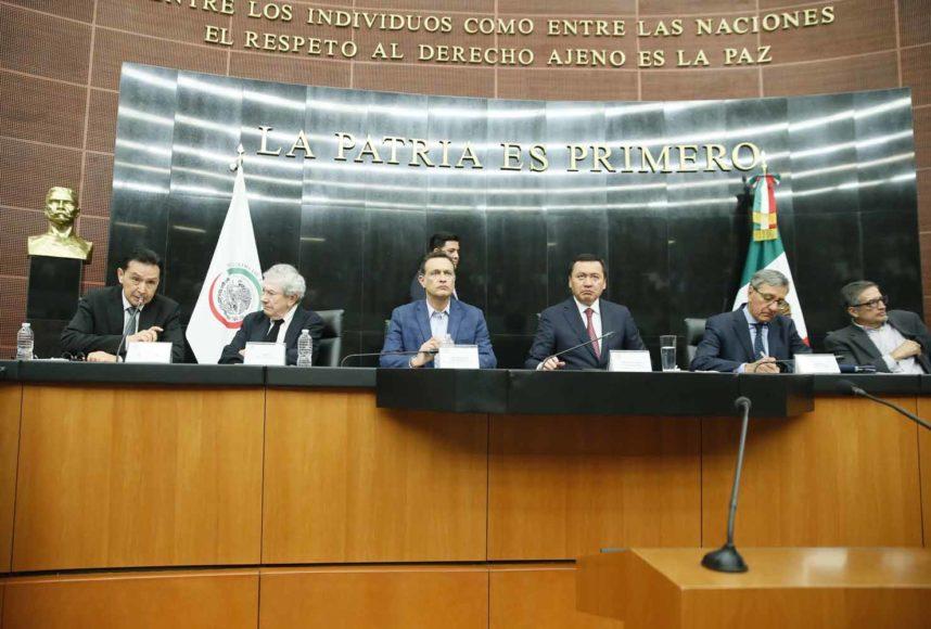 Participación del coordinador del PAN Mauricio Kuri González durante el foro: ¿Qué Reforma Fiscal necesita México?