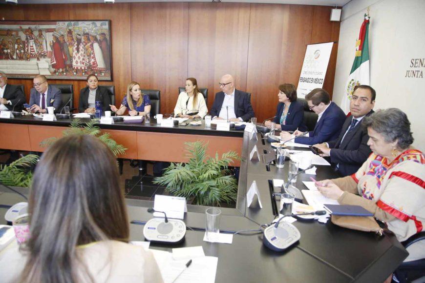 """Participación de la senadora Alejandra Reynoso Sánchez durante la reunión del Consejo Consultivo Nacional """"Pensando en México"""""""