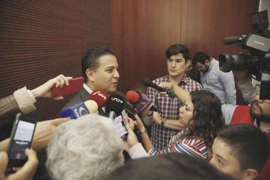 """Entrevista al senador Damián Zepeda Vidales, al término de su participación en el foro """"El sistema de justicia penal en México: ¿En dónde estamos y hacia dónde vamos?"""""""