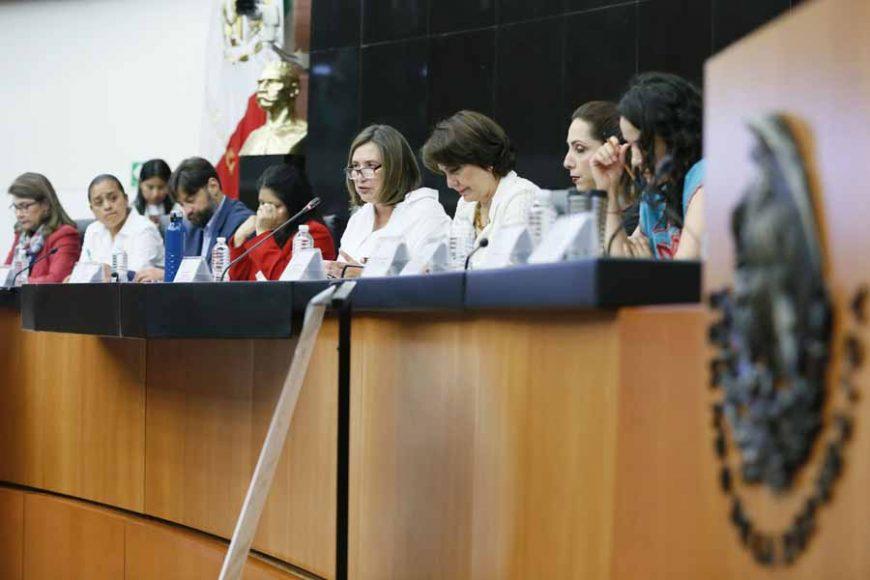 Senadora Xóchitl Gálvez Ruiz, durante el Foro: Parlamento Abierto en Materia de Justicia Laboral, Libertad Sindical, Negociación Colectiva y Personas Trabajadoras del Hogar, organizado por la Comisión de Anticorrupción, Transparencia y Participación Ciudadana
