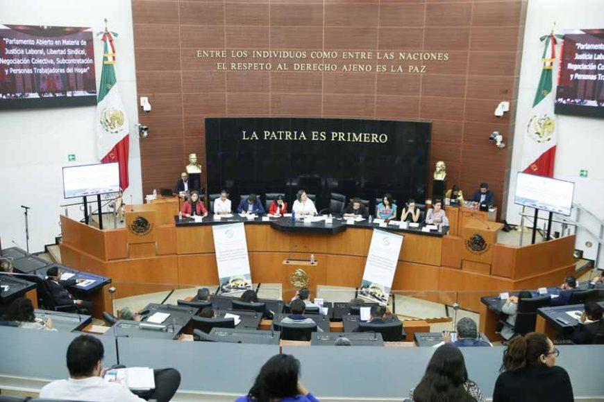 Intervención de la senadora Xóchitl Gálvez Ruiz, al iniciar la mesa 3: Derechos de las personas trabajadoras del hogar, del foro del Parlamento abierto en materia de justicia laboral, libertad sindical, negociación colectiva, subcontratación y personas trabajadoras del hogar.