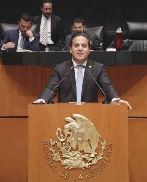 Intervención del senador Damián Zepeda Vidales, al referirse a la resolución del Congreso de Baja California.