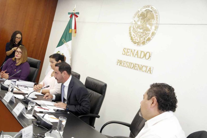 Participación del senador del PAN Raúl Paz Alonzo, durante la comparecencia de los ciudadanos a ocupar los cargos de Magistrados de la Tercera Sección de la Sala Superior y a Magistrados de la Sala Especializada en materia de responsabilidades administrativas del Tribunal Federal de Justicia Administrativa.