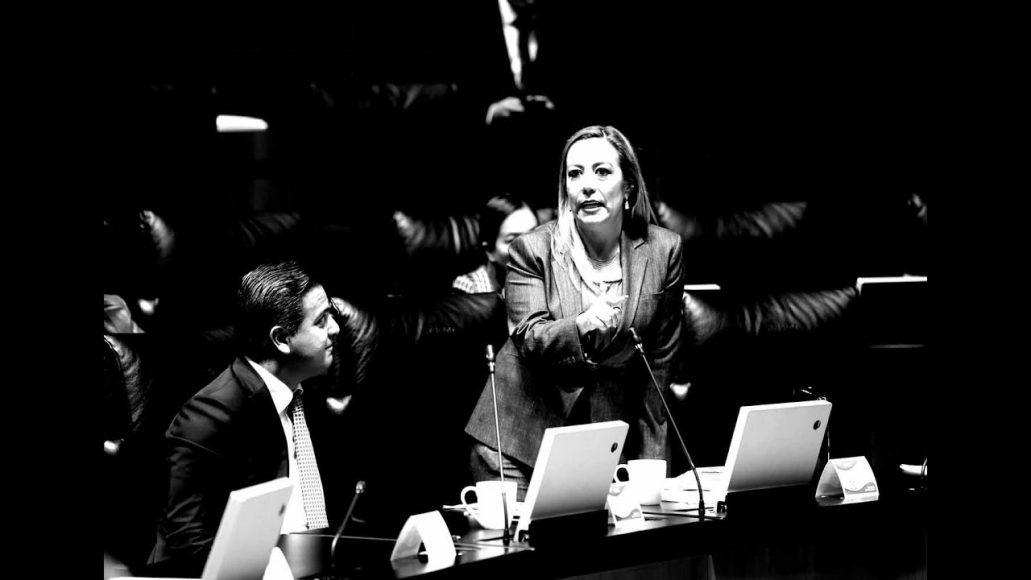 Senadora Alejandra Reynoso Sánchez para solicitar una reunión de trabajo con los titulares de la Secretaría de Gobernación y de la Secretaría de Seguridad Pública y Ciudadana