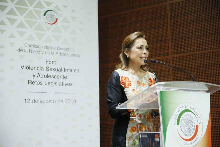 """Senadora Josefina Vázquez Mota, en las conclusiones del foro """"Violencia sexual infantil y adolescente: retos legislativos"""""""