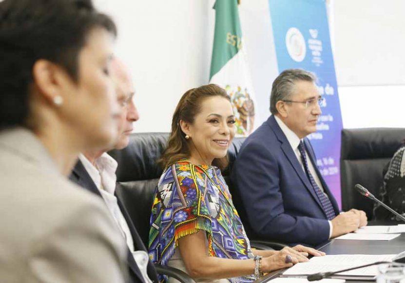 Palabras de la senadora Josefina Vázquez Mota al presentar su Primer Informe de actividades legislativas.
