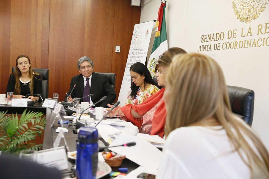 Intervención de la senadora Alejandra Reynoso Sánchez durante la comparecencia de José Omar Hurtado Contreras, designado Embajador de México en la República Cooperativa de Guyana.