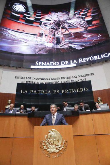 Intervención del senador Víctor Fuentes Solís para referirse a un dictamen de la Tercera Comisión, con punto de acuerdo por el que la Comisión Permanente ratifica el nombramiento expedido a favor del C. Gabriel Yorio González, como Subsecretario de Hacienda y Crédito Público de la Secretaría de Hacienda y Crédito Público.