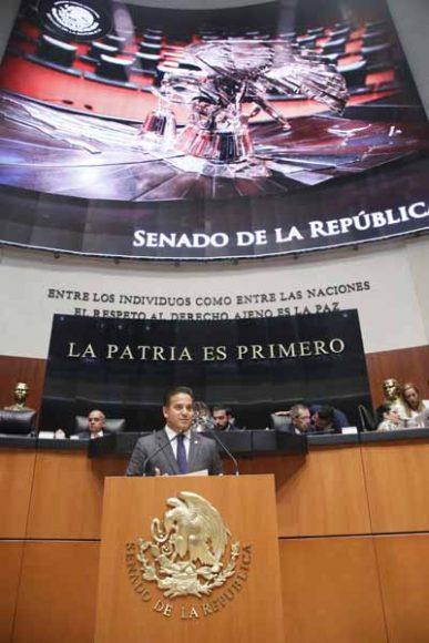 Intervención en tribuna del senador Damián Zepeda Vidales para referirse a un dictamen de la Tercera Comisión, el que considera atendidas DIEZ proposiciones con punto de acuerdo relativas a la Refinería de Dos Bocas.