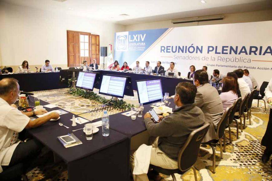 Trabajos del segundo día de la Reunión Plenaria del GPPAN