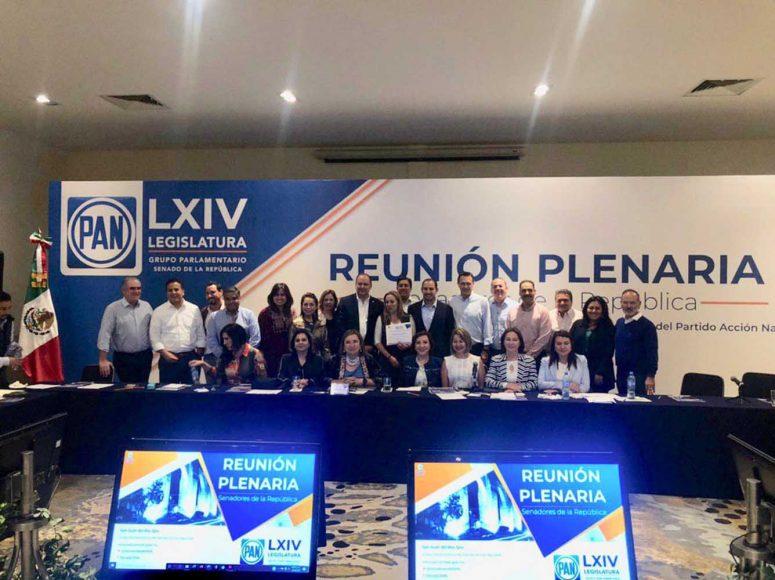 El primer día de la Reunión Plenaria del GPPAN culmina con un diálogo entre los integrantes de la bancada y el presidente nacional de Coparmex, Gustavo de Hoyos Walther, y fue clausurado por el presidente del PAN, Marko Cortés Mendoza.