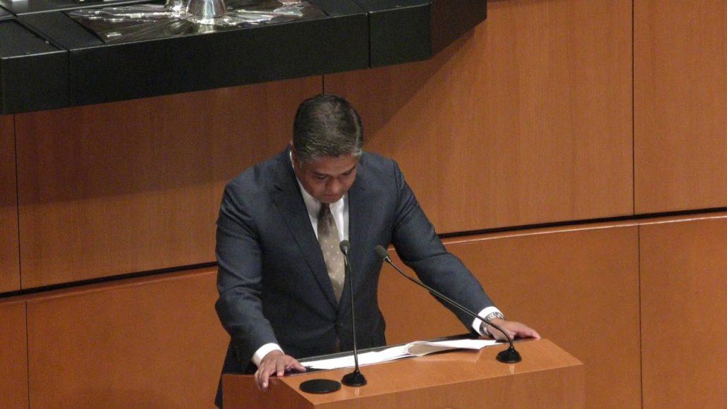 Senador Víctor Fuentes Solís, nombramiento de Subsecretario de Hacienda y Crédito Público de la SHCP