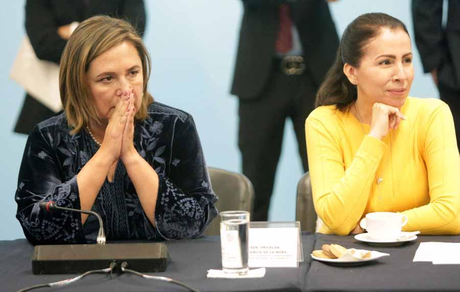 Intervención de la senadora Xóchitl Gálvez Ruiz, durante la reunión de trabajo de la Comisión de Comunicaciones y Transportes.