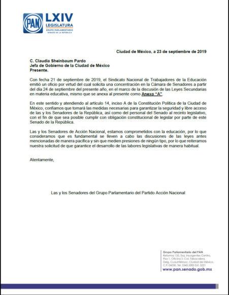 2019.09.23 CARTA A JEFA DE CDMX