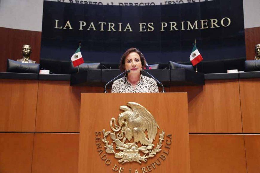 Intervención de la senadora Guadalupe Murguía Gutiérrez, al presentar una iniciativa que expide el Código Nacional de Procedimientos Familiares.