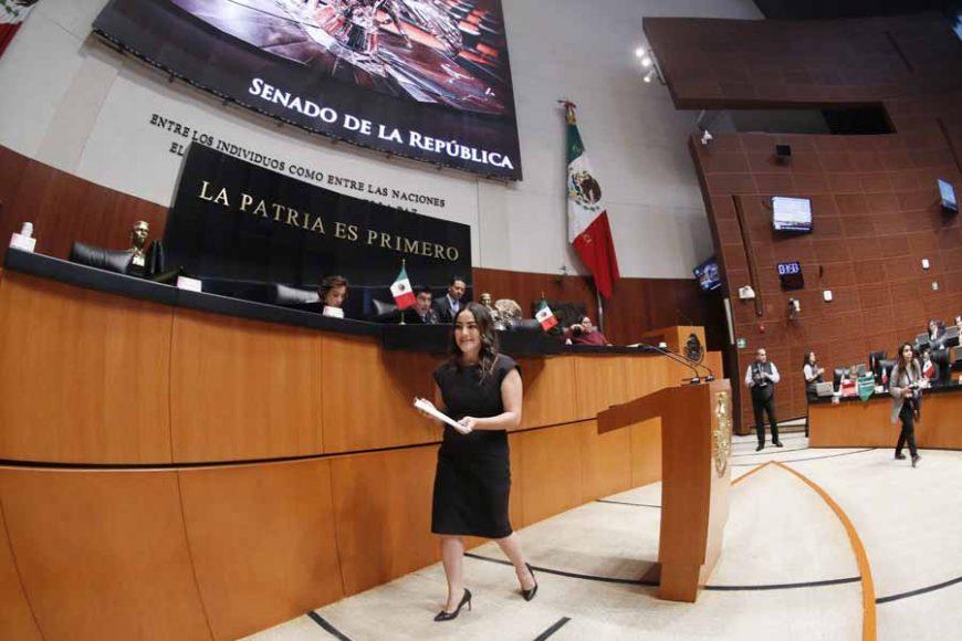 Intervención en tribuna de la senadora Martha Cecilia Márquez Alvarado, al presentar iniciativa con proyecto de decreto que adiciona un artículo 59 Bis a la Ley General de Acceso de las Mujeres a una Vida Libre de Violencia.