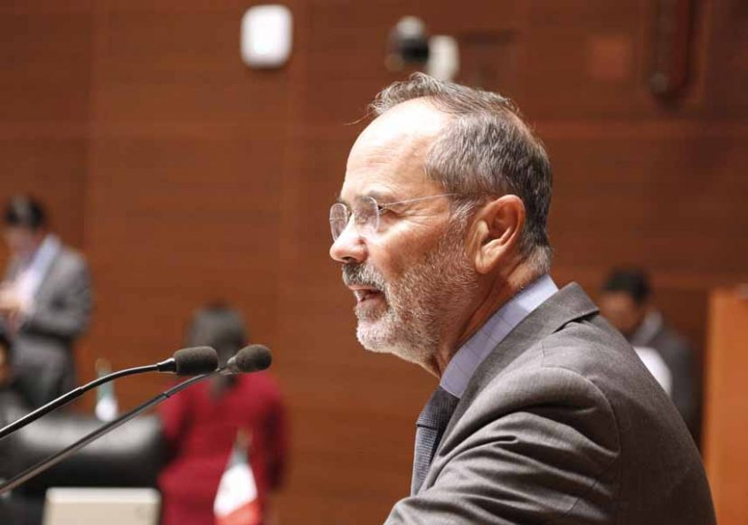 Intervención del senador Gustavo Madero Muñoz, al fundamentar un dictamen de las comisiones unidas de Relaciones Exteriores y de Economía, por el que se aprueba el acta de Ginebra del arreglo de La Haya, relativo al registro internacional de dibujos y modelos industriales, adoptada en Ginebra el 2 de julio de 1999.