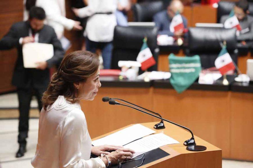 Intervención de la senadora Josefina Vázquez Mota, al fundamentar un dictamen de las comisiones unidas de Derechos de la Niñez y de la Adolescencia y de Estudios Legislativos, que reforma los artículos 98 y 99 y adiciona una fracción al artículo 4 de la Ley General de los Derechos de Niñas, Niños y Adolescentes.
