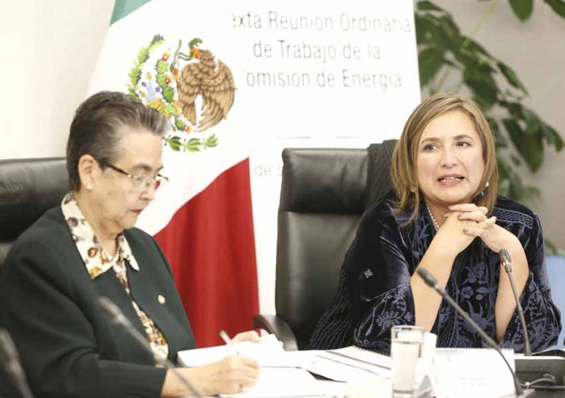 Intervención de la senadora Xóchitl Gálvez Ruiz, durante la reunión de los integrantes de la Comisión de Energía con el maestro Roger González Lay, presidente de la Comisión de Energía del Consejo Coordinador Empresarial.