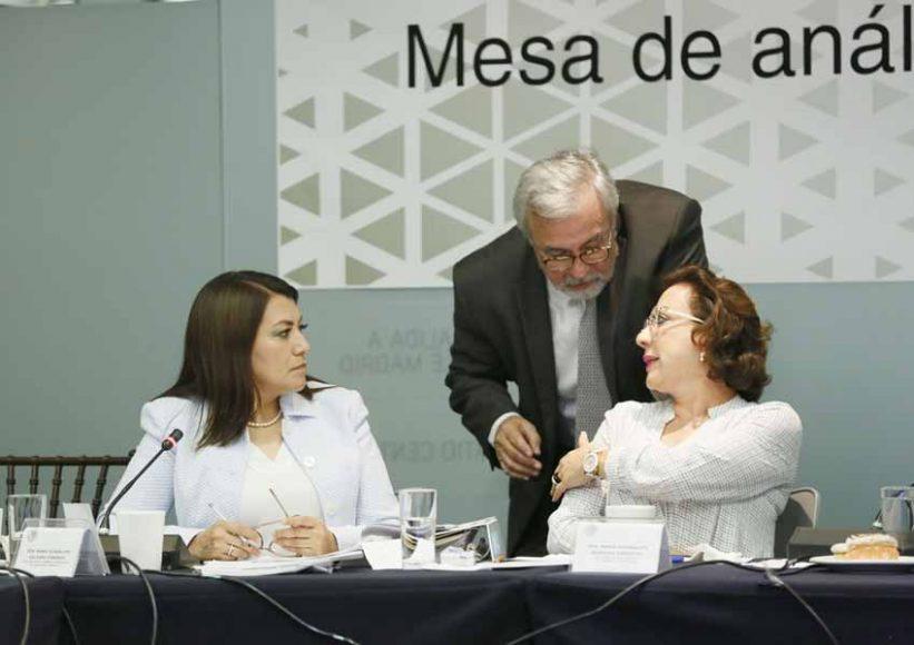 Intervención de la senadora Guadalupe Murguía Gutiérrez, en las conclusiones de la Mesa de análisis a las Leyes Secundarias de Educación.