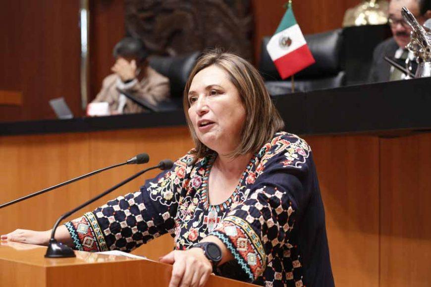 Intervención en tribuna de la senadora Xóchitl Gálvez Ruiz para referirse a un dictamen de la Comisión de Energía, por el que se acuerda la elegibilidad del C. Rafael Espino de la Peña, para ocupar el cargo de Consejero Independiente para el Consejo de Administración de Petróleos Mexicanos.