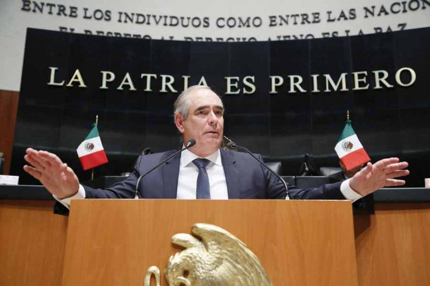 Intervención en tribuna del senador Julen Rementería del Puerto durante el análisis del Primer Informe de Gobierno, en materia de política interior.