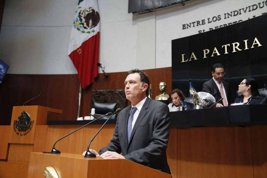 Intervención del senador Mauricio Kuri González, al presentar una iniciativa que reforma los artículos 180 y 189 del Código Penal Federal.