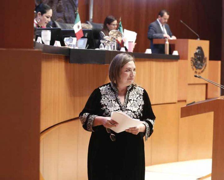 Senadora Xóchitl Gálvez Ruiz, en relación con la conmemoración de los trágicos hechos con motivo de los sismos acaecidos en México el 19 de septiembre