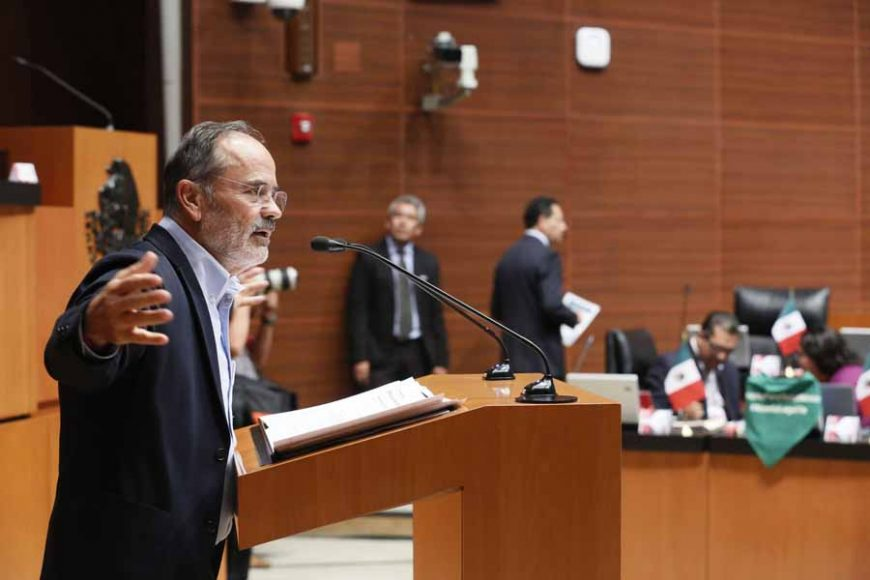 Intervención del senador Gustavo Madero Muñoz durante el análisis del Primer Informe de Gobierno en materia de política económica.