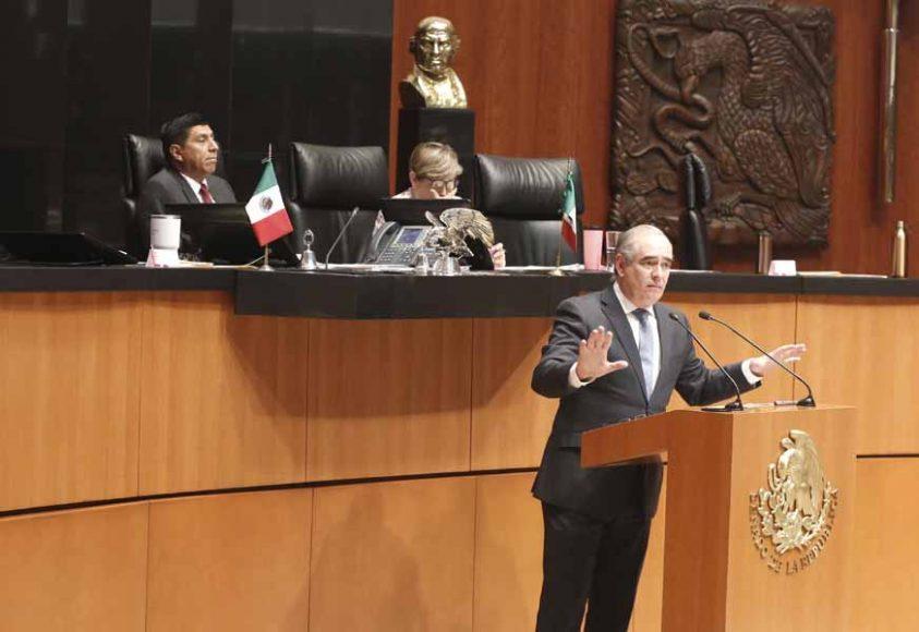 Intervención del senador Julen Rementería del Puerto, al presentar una iniciativa que reforma los artículos 132 y 146 de la Ley General de Transparencia y Acceso a la Información Pública.