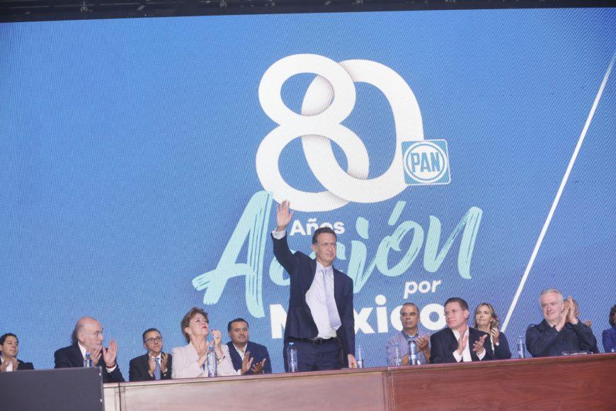 Asamblea Nacional del Partido Acción Nacional en su 80 aniversario