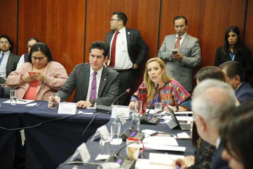 Intervención de la senadora Alejandra Reynoso Sánchez, en la reunión de trabajo de las comisiones unidas de Relaciones Exteriores América Latina y el Caribe, y de Relaciones Exteriores y de Comunicaciones y Transportes