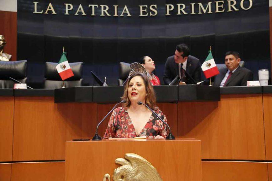 Intervención de la senadora Gina Andrea CruzBlackledge, durante el análisis del Primer Informe de Gobierno en materia de política exterior.