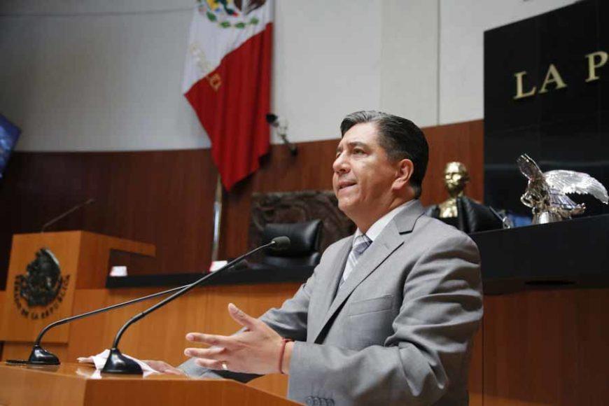 Intervención del senador Marco Antonio Gama Basarte, durante el análisis del Primer Informe de Gobierno en materia de política exterior.
