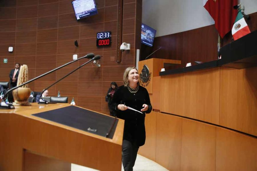 Intervención en tribuna de la senadora Xóchitl Gálvez Ruiz para referirse a un dictamen de las Comisiones de Agricultura, Ganadería, Pesca y Desarrollo Rural y de Estudios Legislativos Segunda, con proyecto de decreto por el que se declara el día 29 de septiembre de cada año como el Día Nacional del Maíz.