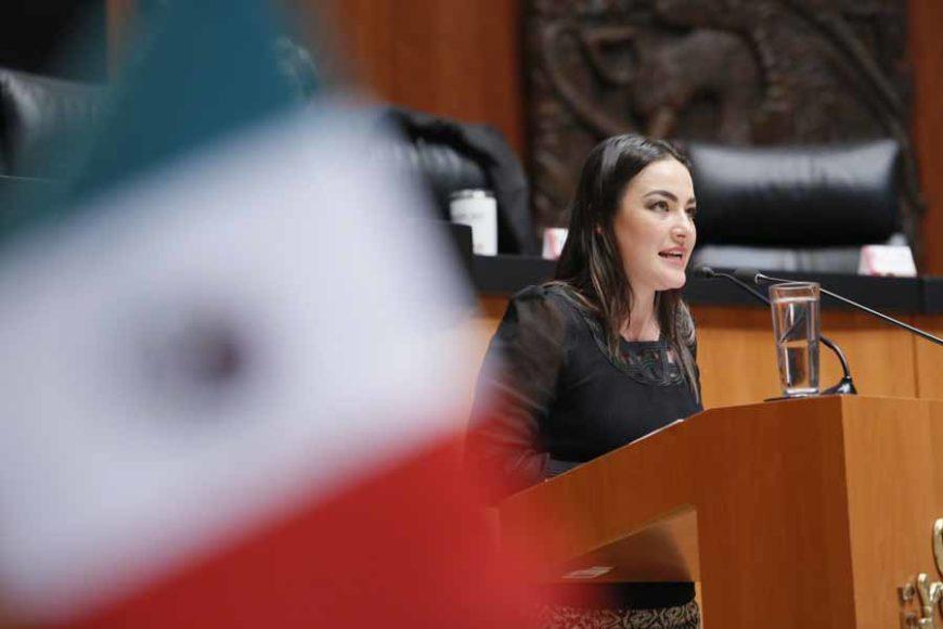 Intervención en tribuna de la senadora Martha Cecilia Márquez Alvarado durante el análisis del Primer Informe de Gobierno, en materia de política social