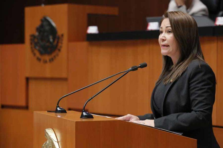 Intervención en tribuna de la senadora Gloria Núñez Sánchez durante el análisis del Primer Informe de Gobierno, en materia de política social.