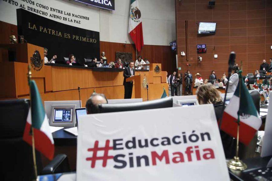 Intervención en tribuna del senador Mauricio Kuri González, durante la discusión de un dictamen por el que se expide la Ley General de Educación y se abroga la Ley General de la Infraestructura Física Educativa.